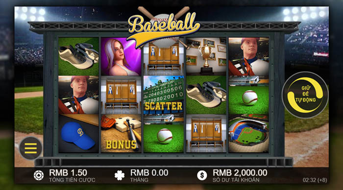 Slot game bóng chày
