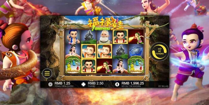 Slot game 7 anh em pháp thuật