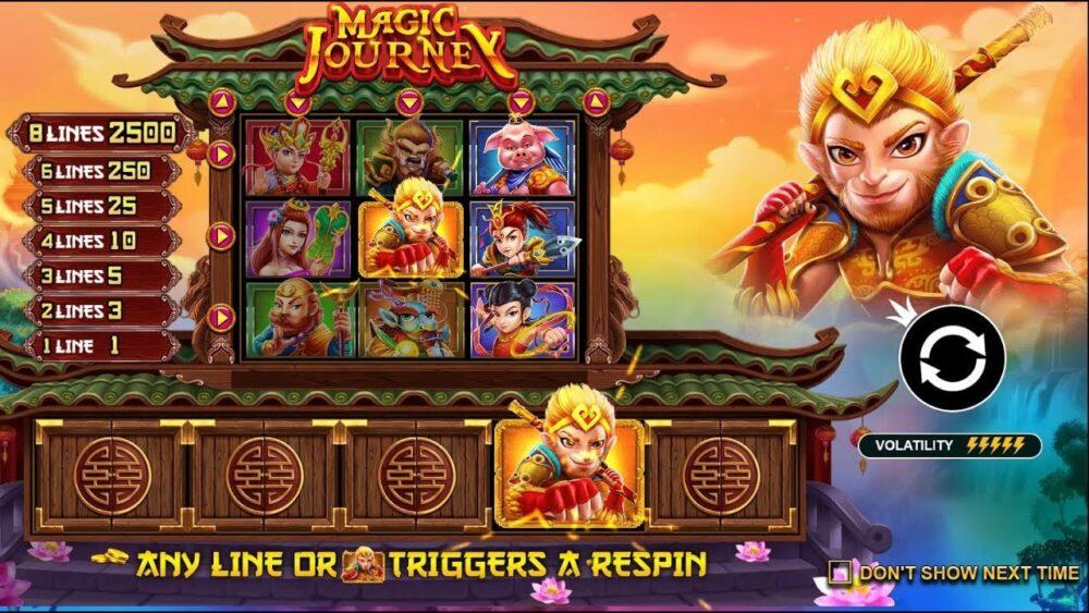 Slot game Magic Journey có đồ hoạ khá tốt, mang phong cách cổ điển Châu Á